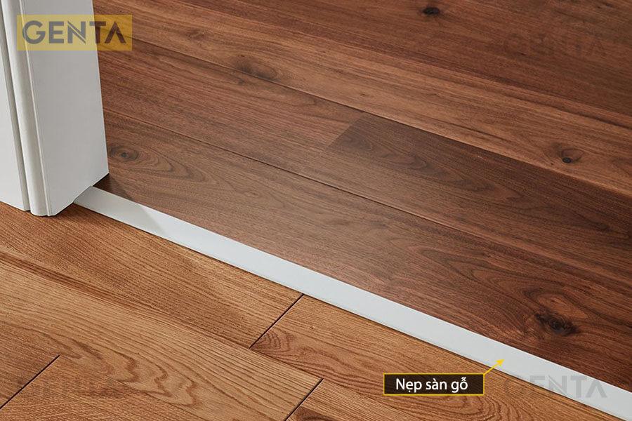 Nẹp nối bề mặt sàn gỗ có diện tích lớn