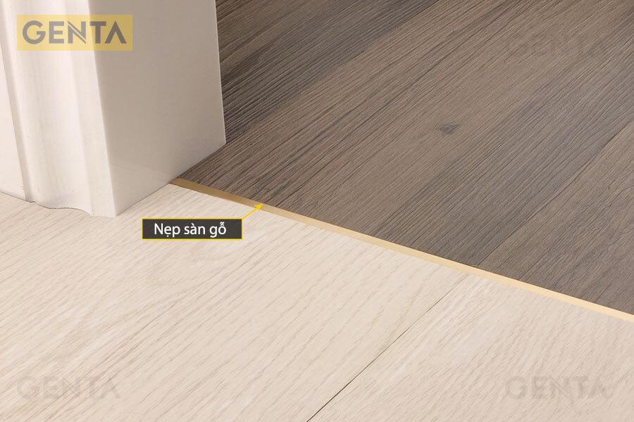 Nẹp sàn gỗ tạo điểm nhấn trang trí cho công trình
