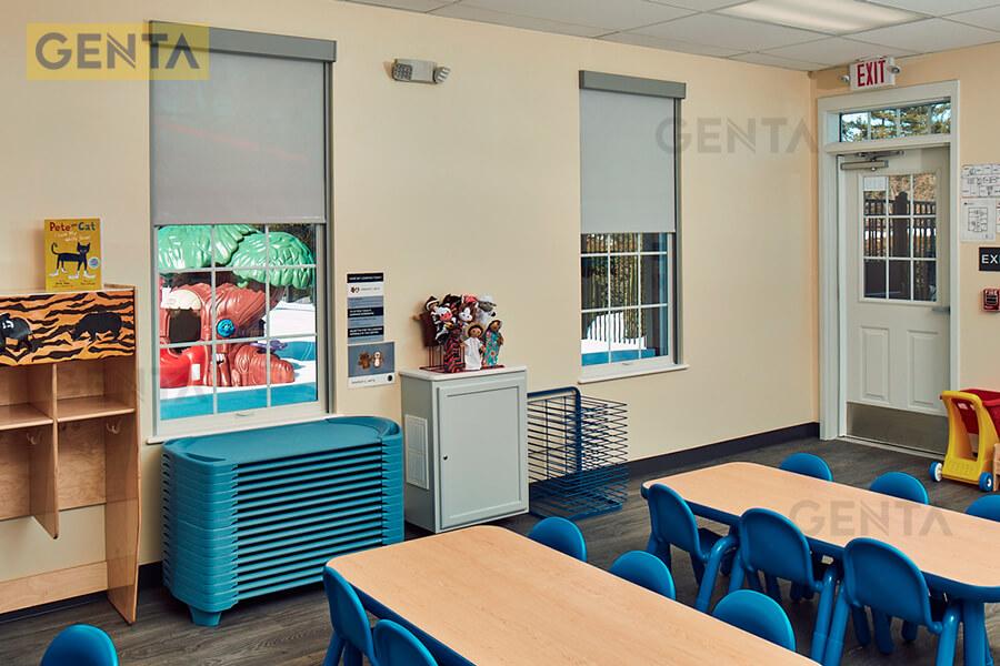 Ứng dụng của len chân tường inox 304 S-CD tại phòng học