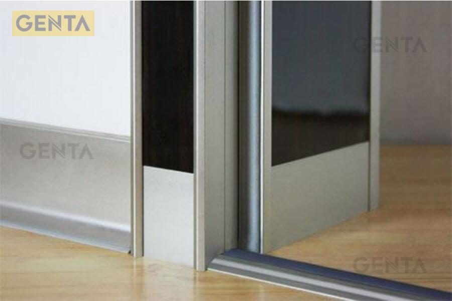 Ứng dụng cửa nẹp sàn gỗ cao thấp NOP8.0