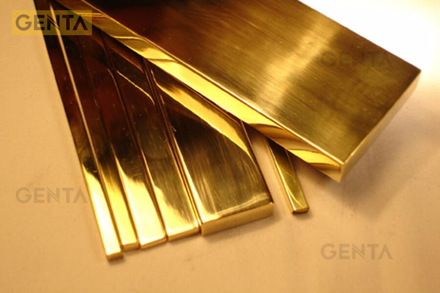 La inox 5mm do GENTA cung cấp có đa dạng màu sắc