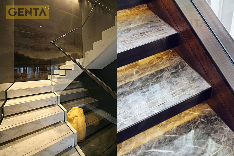 La inox 5mm tạo chỉ chống trơn trượt tại cầu thang